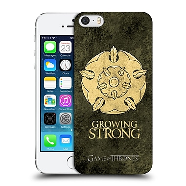 Official Hbo Game Of Thrones Dark Distressed Sigils Tyrell Hard Back Case For Apple Iphone 5 / 5S / Se