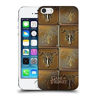 Official Hbo Game Of Thrones Golden Sigils Greyjoy Hard Back Case For Apple Iphone 5 / 5S / Se