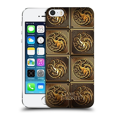 Official Hbo Game Of Thrones Golden Sigils Targaryen Hard Back Case For Apple Iphone 5 / 5S / Se