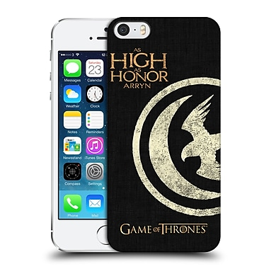 Official Hbo Game Of Thrones House Mottos Arryn Hard Back Case For Apple Iphone 5 / 5S / Se