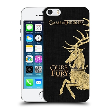 Official Hbo Game Of Thrones House Mottos Baratheon Hard Back Case For Apple Iphone 5 / 5S / Se