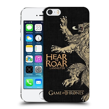 Official Hbo Game Of Thrones House Mottos Lannister Hard Back Case For Apple Iphone 5 / 5S / Se