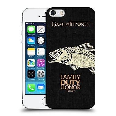 Official Hbo Game Of Thrones House Mottos Tully Hard Back Case For Apple Iphone 5 / 5S / Se
