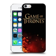 Official Hbo Game Of Thrones Key Art Logo Hard Back Case For Apple Iphone 5 / 5S / Se