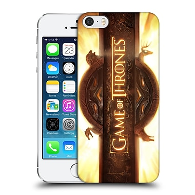 Official Hbo Game Of Thrones Key Art Opening Sequence Hard Back Case For Apple Iphone 5 / 5S / Se