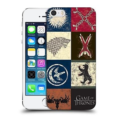 Official Hbo Game Of Thrones Battle Of The Bastards House Sigils Hard Back Case For Apple Iphone 5 / 5S / Se