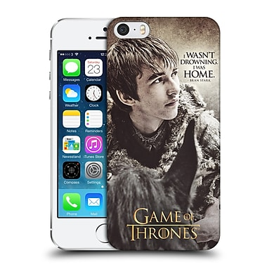 Official Hbo Game Of Thrones Character Quotes Bran Stark Hard Back Case For Apple Iphone 5 / 5S / Se