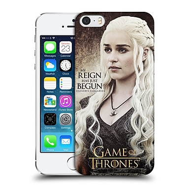 Official Hbo Game Of Thrones Character Quotes Daenerys Targaryen Hard Back Case For Apple Iphone 5 / 5S / Se