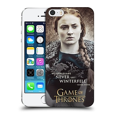 Official Hbo Game Of Thrones Character Quotes Sansa Stark Hard Back Case For Apple Iphone 5 / 5S / Se