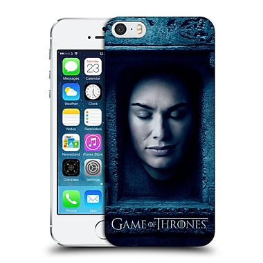 Official Hbo Game Of Thrones Faces Cersei Lannister Hard Back Case For Apple Iphone 5 / 5S / Se