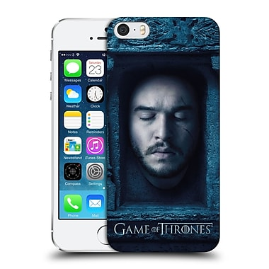 Official Hbo Game Of Thrones Faces Jon Snow Hard Back Case For Apple Iphone 5 / 5S / Se