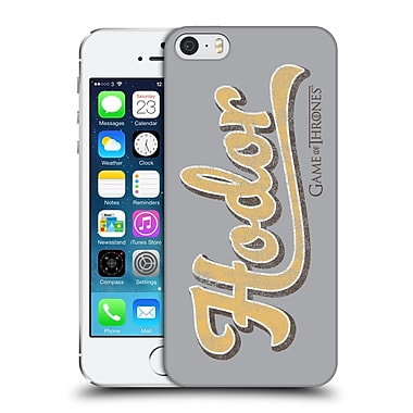 Official Hbo Game Of Thrones Hodor Athletic Typography Hard Back Case For Apple Iphone 5 / 5S / Se