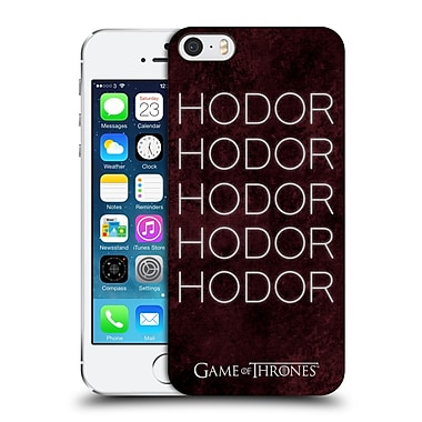 Official Hbo Game Of Thrones Hodor Hold The Door 1 Hard Back Case For Apple Iphone 5 / 5S / Se