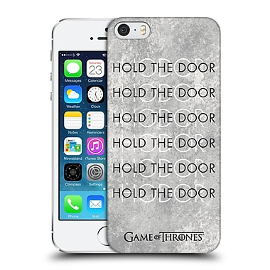 Official Hbo Game Of Thrones Hodor Hold The Door 3 Hard Back Case For Apple Iphone 5 / 5S / Se