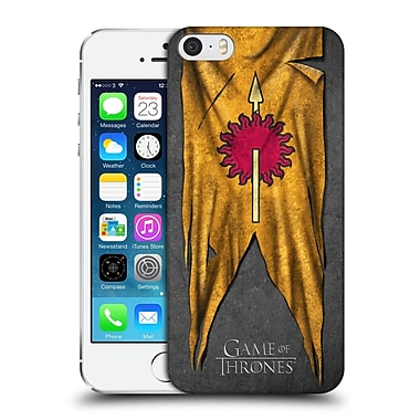 Official Hbo Game Of Thrones Sigil Flags Martell Hard Back Case For Apple Iphone 5 / 5S / Se