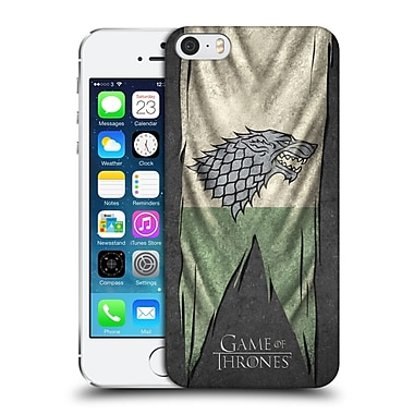 Official Hbo Game Of Thrones Sigil Flags Stark Hard Back Case For Apple Iphone 5 / 5S / Se