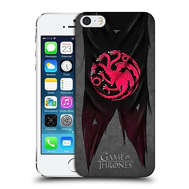 Official Hbo Game Of Thrones Sigil Flags Targaryen Hard Back Case For Apple Iphone 5 / 5S / Se