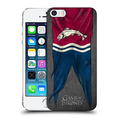 Official Hbo Game Of Thrones Sigil Flags Tully Hard Back Case For Apple Iphone 5 / 5S / Se
