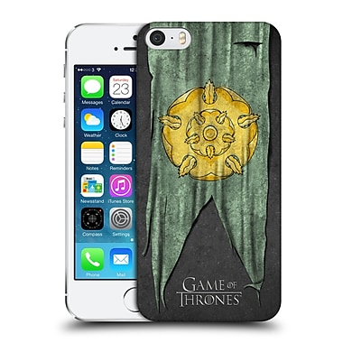 Official Hbo Game Of Thrones Sigil Flags Tyrell Hard Back Case For Apple Iphone 5 / 5S / Se
