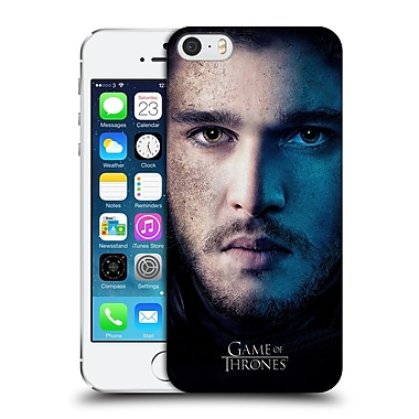 Official Hbo Game Of Thrones Valar Morghulis Jon Snow Hard Back Case For Apple Iphone 5 / 5S / Se