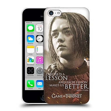 Official Hbo Game Of Thrones Character Portraits Arya Stark Hard Back Case For Apple Iphone 5C