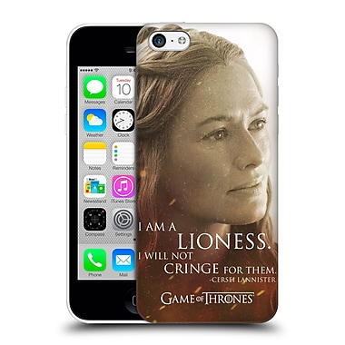 Official Hbo Game Of Thrones Character Portraits Cersei Lannister Hard Back Case For Apple Iphone 5C