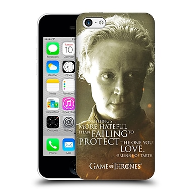 Official Hbo Game Of Thrones Character Portraits Brienne Of Tarth Hard Back Case For Apple Iphone 5C