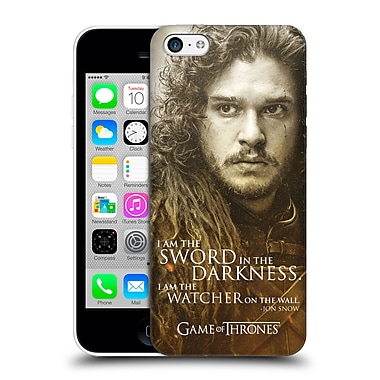 Official Hbo Game Of Thrones Character Portraits Jon Snow Hard Back Case For Apple Iphone 5C