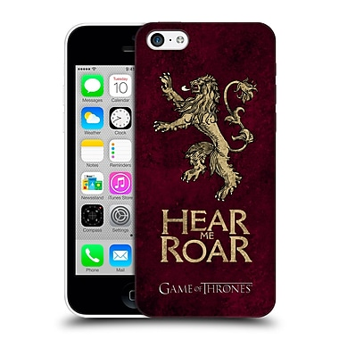 Official Hbo Game Of Thrones Dark Distressed Sigils Lannister Hard Back Case For Apple Iphone 5C