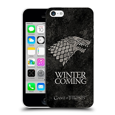 Official Hbo Game Of Thrones Dark Distressed Sigils Stark Hard Back Case For Apple Iphone 5C