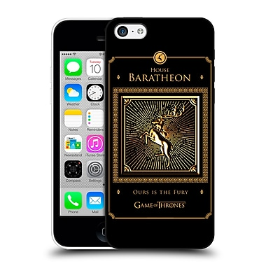 Official Hbo Game Of Thrones Golden Sigils Baratheon Border Hard Back Case For Apple Iphone 5C