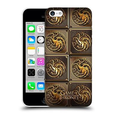 Official Hbo Game Of Thrones Golden Sigils Targaryen Hard Back Case For Apple Iphone 5C