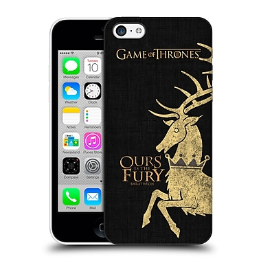 Official Hbo Game Of Thrones House Mottos Baratheon Hard Back Case For Apple Iphone 5C