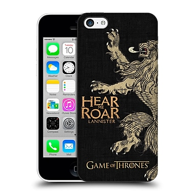 Official Hbo Game Of Thrones House Mottos Lannister Hard Back Case For Apple Iphone 5C