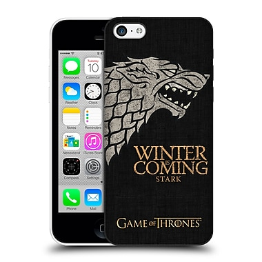 Official Hbo Game Of Thrones House Mottos Stark Hard Back Case For Apple Iphone 5C