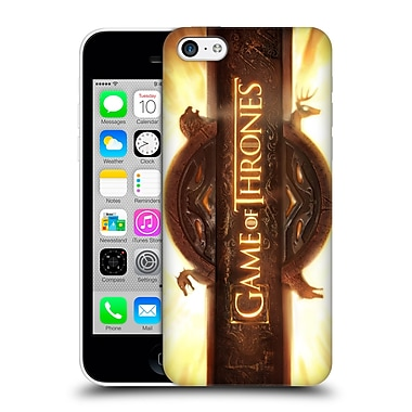 Official Hbo Game Of Thrones Key Art Opening Sequence Hard Back Case For Apple Iphone 5C