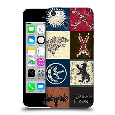 Official Hbo Game Of Thrones Battle Of The Bastards House Sigils Hard Back Case For Apple Iphone 5C
