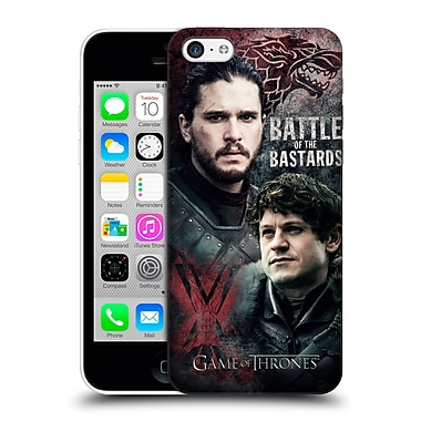 Official Hbo Game Of Thrones Battle Of The Bastards Jon Versus Ramsay Hard Back Case For Apple Iphone 5C