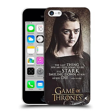 Official Hbo Game Of Thrones Character Quotes Arya Stark Hard Back Case For Apple Iphone 5C