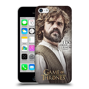Official Hbo Game Of Thrones Character Quotes Tyrion Lannister Hard Back Case For Apple Iphone 5C