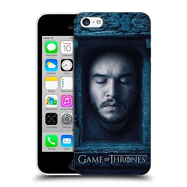 Official Hbo Game Of Thrones Faces Jon Snow Hard Back Case For Apple Iphone 5C