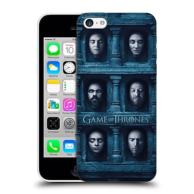 Official Hbo Game Of Thrones Faces 2 Six Heads Hard Back Case For Apple Iphone 5C