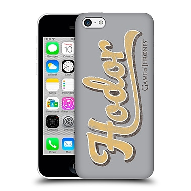 Official Hbo Game Of Thrones Hodor Athletic Typography Hard Back Case For Apple Iphone 5C