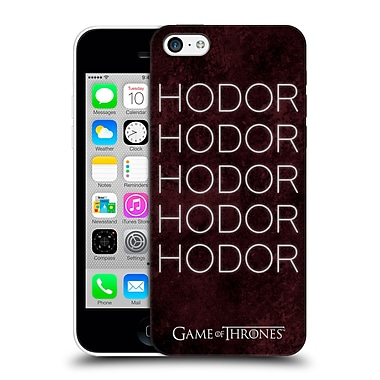 Official Hbo Game Of Thrones Hodor Hold The Door 1 Hard Back Case For Apple Iphone 5C