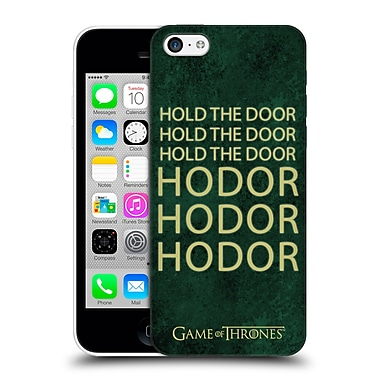 Official Hbo Game Of Thrones Hodor Name Hard Back Case For Apple Iphone 5C