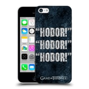 Official Hbo Game Of Thrones Hodor Quote 1 Hard Back Case For Apple Iphone 5C