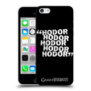 Official Hbo Game Of Thrones Hodor Quote 2 Hard Back Case For Apple Iphone 5C