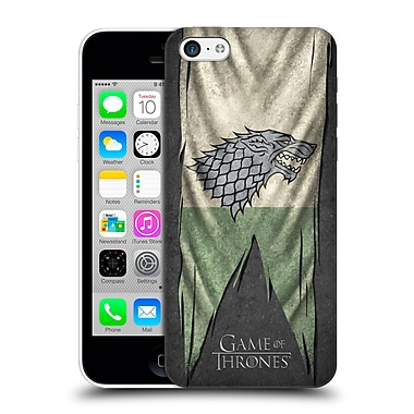 Official Hbo Game Of Thrones Sigil Flags Stark Hard Back Case For Apple Iphone 5C