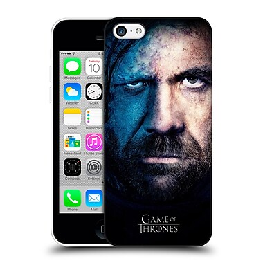 Official Hbo Game Of Thrones Valar Morghulis Sandor Clegane Hard Back Case For Apple Iphone 5C