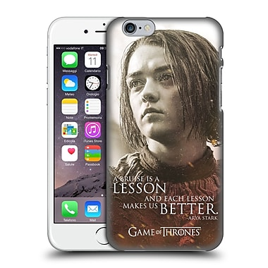 Official Hbo Game Of Thrones Character Portraits Arya Stark Hard Back Case For Apple Iphone 6 / 6S